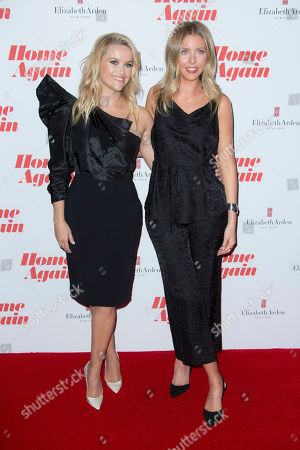 Reese Witherspoon, Hallie Meyers-Shyer. Actress Reese Witherspoon and Director and writer Hallie Meyers-Shyer pose for photographers upon arrival at the screening for 'Home Again' in London