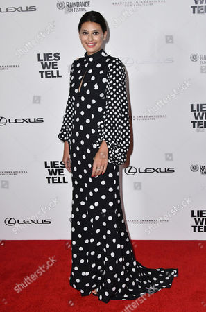 Editorial picture of 'Lies We Tell' film premiere, London, UK - 21 Sep 2017