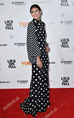Editorial image of 'Lies We Tell' film premiere, London, UK - 21 Sep 2017