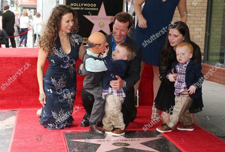Jeff Dunham, Audrey Dunham, James Dunham, Family