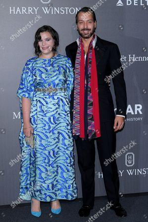 Editorial photo of AmfAR gala, Milan Fashion Week, Italy - 21 Sep 2017