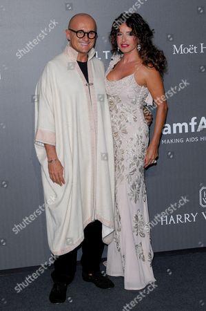 Alfonso Signorini and Gabriella Dompe