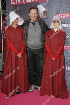 Editorial photo of 'The Handmaid's Tale' TV show event, Berlin, Germany - 21 Sep 2017