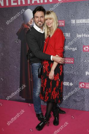 Tobey Wilson and partner Sabrina Gehrmann