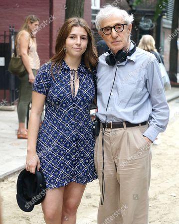 Stock Image of Woody Allen, Manzie Tio Allen