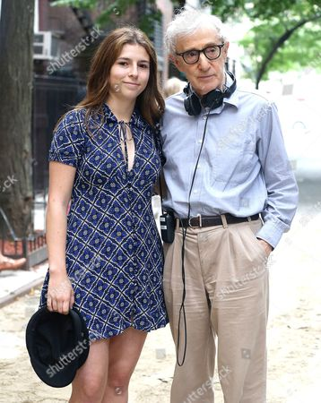 Stock Photo of Woody Allen, Manzie Tio Allen