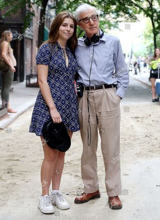 Editorial image of Untitled Woody Allen Project on set filming, New York, USA - 21 Sep 2017