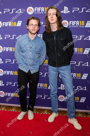 Myles Kellock and Tom Ogden from Blossoms