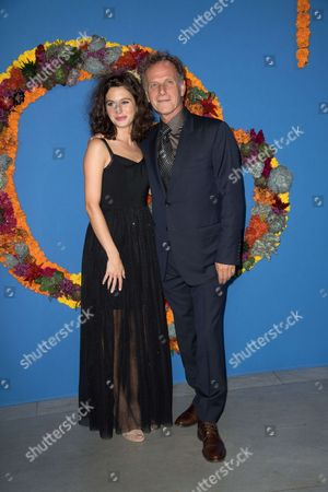 Stock Picture of Actors Pauline Cheviller and Charles Berling