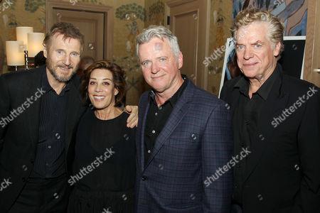 Liam Neeson, Peggy Siegal, Aidan Quinn, Christopher McDonald