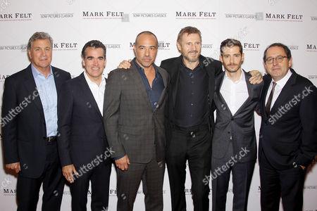 Tom Bernard (Co-Pres. SPC), Brian d'Arcy James, Peter Landeseman (Director, Writer), Liam Neeson, Julian Morris, Michael Barker (Co-Pres. SPC)