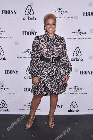 Linda Johnson Rice, CEO of Ebony Media attends the Universal Music Group and Ebony celebration in honor of Senator Kamala D. Harris (D) during 2017 CBCF ALC at Ajax Gallery, in Washington, DC
