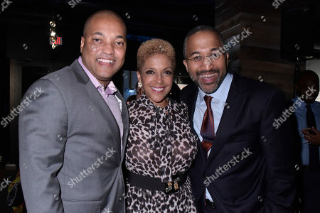 Mark Walker, Linda Johnson. Mark Walker, COO of Ebony, Linda Johnson Rice, CEO of Ebony Media and guest attend the Universal Music Group and Ebony celebration in her honor during 2017 CBCF ALC at Ajax Gallery, in Washington, DC