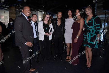 Editorial picture of Universal Music Group and Ebony Honor Sen. Kamala D. Harris during 2017 CBCF ALC, Washington, USA - 21 Sep 2017