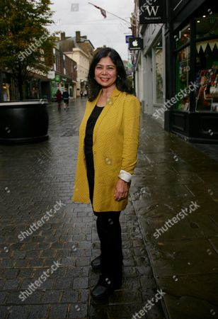 Editorial picture of 'An evening with Shrabani Basu' at Waterstones, Windsor, UK - 21 Sep 2017