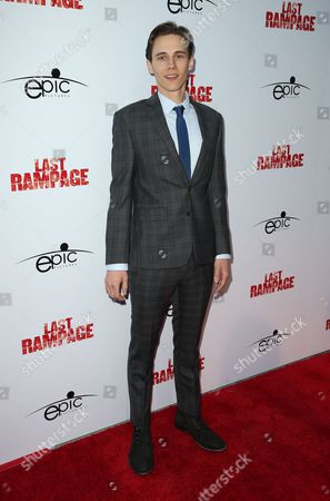 Editorial photo of 'The Last Rampage' film premiere, Los Angeles, USA - 21 Sep 2017