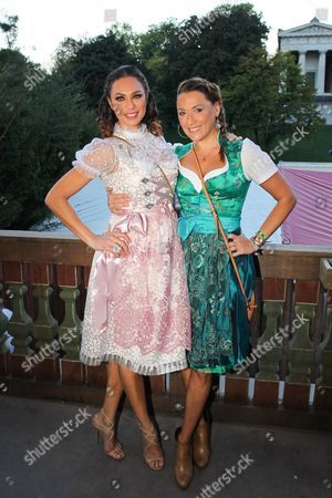 Lilly Becker mit Simone Ballack,..