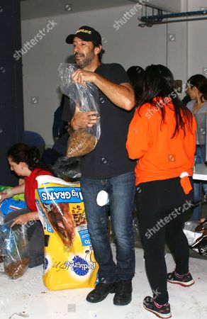 Editorial image of Celebrities volunteer at collection centre for the victims of earthquake, Tanganica, Mexico - 21 Sep 2017