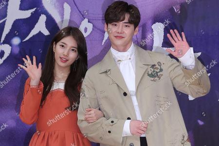 Bae Suzy and Lee Jong-suk