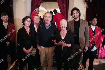 Consolata Boyle - Costume Designer, Eddie Izzard, Stephen Frears - Director, Judi Dench and Ali Fazal