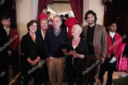 Stock Picture of Consolata Boyle - Costume Designer, Eddie Izzard, Stephen Frears - Director, Judi Dench and Ali Fazal
