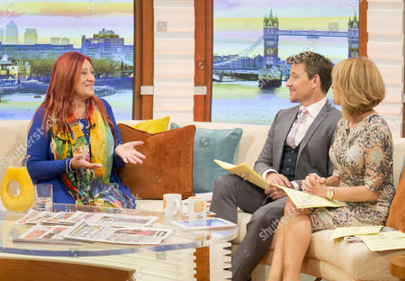Lynne Franks with Ben Shephard and Kate Garraway