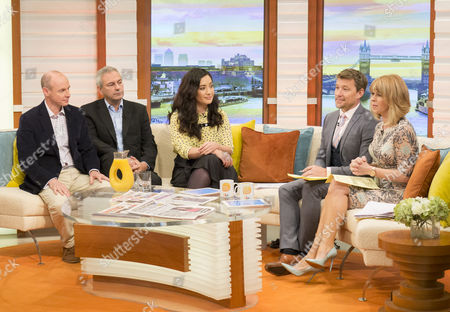 Daniel Hannan Mep, Kevin Maguire and Nina Schick with Ben Shephard and Kate Garraway