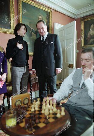 Jalaal Hartley (as Leonid Vorodin) and Rupert Vansittart (as Lord Ashfordly)