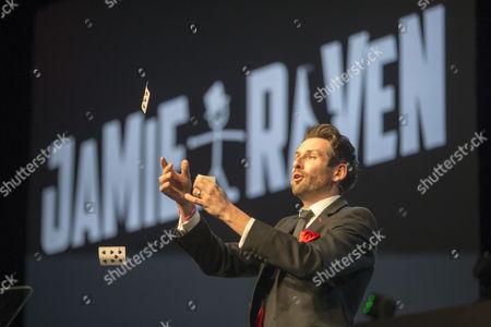 Jamie Raven entertains the crowd