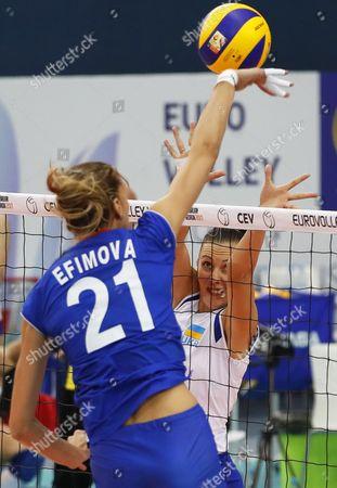 Editorial picture of Volleyball Women European Championship 2017, Baku, Azerbaijan - 22 Sep 2017