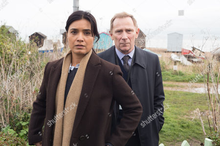 (Ep5) - Shelley Conn as DI Vanessa Harmon and Danny Webb as DS Rory Maxwell.