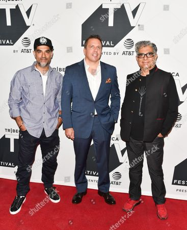 Gotham Chopra, Chris Long, Deepak Chopra