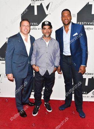 Editorial photo of 'Religion of Sports' TV Show screening, Arrivals, Tribeca TV Festival, New York, USA - 22 Sep 2017