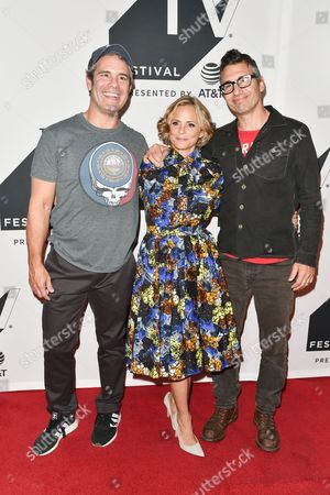 Andy Cohen, Amy Sedaris, Paul Dinello