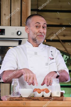 Editorial photo of Michel Roux Jr cookery demonstration at The BBC Good Food's Feast, London, UK - 22 Sep 2017
