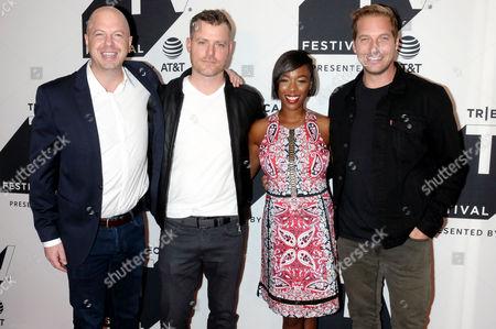 Editorial image of 'Ryan Hansen Solves Crimes on Television' TV Show screening, Arrivals, Tribeca TV Festival, New York, USA - 23 Sep 2017