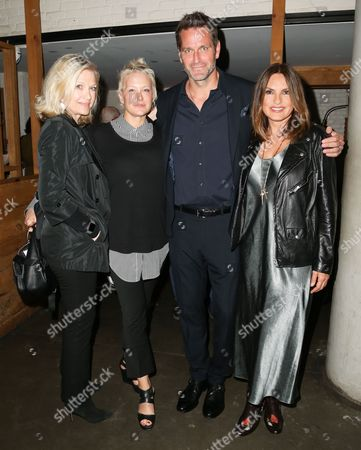 Diane Sawyer, Nancy Jarecki, Peter Hermann, Mariska Hargitay