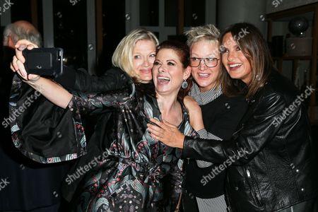 Diane Sawyer, Debra Messing, Nancy Jarecki, Mariska Hargitay