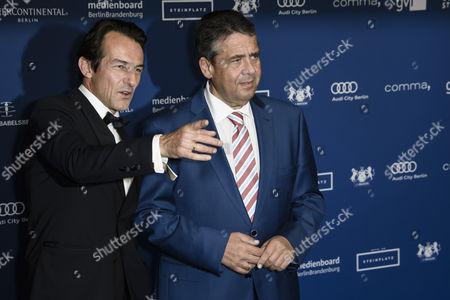 Hans-Werner Meyer and Sigmar Gabriel