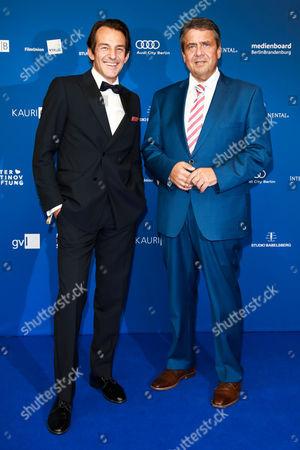 Hans Werner Meyer and Sigmar Gabriel