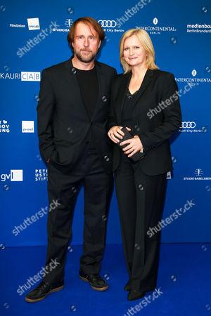 Bjarne Maedel and Johanna Gastdorf