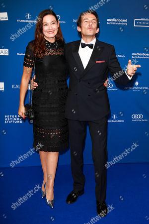 Hans-Werner Meyer mit Ehefrau Jacqueline