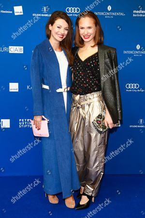 Julia Hartmann and Alina Levshin