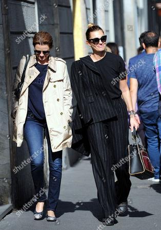 Sveva Alviti and Nathalie Rapti Gomez