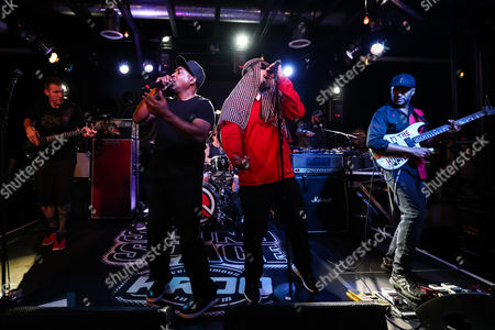 Prophets of Rage, Chuck D, B-Real, Tom Morello, Tim Commerford, \DJ Lord