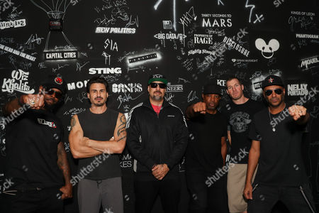Prophets of Rage, Chuck D, B-Real, Tom Morello, Tim Commerford, Brad Wilk, DJ Lord