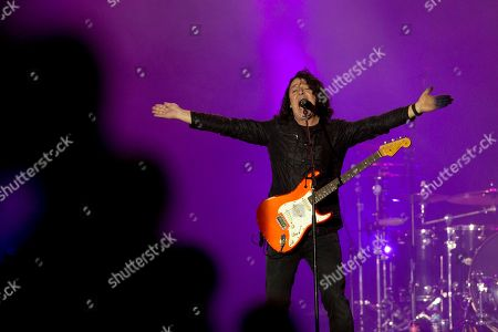Roland Orzabal of Tears for Fears performs at the Rock in Rio music festival in Rio de Janeiro, Brazil