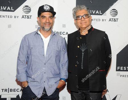 Gotham Chopra and Deepak Chopra
