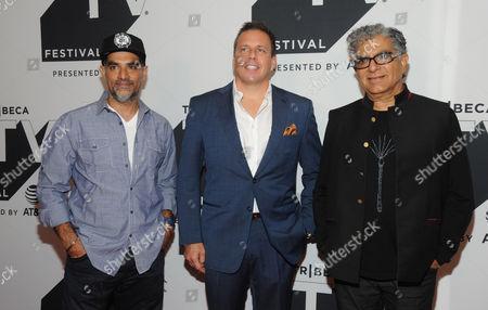 Gotham Chopra, Christopher Long and Deepak Chopra