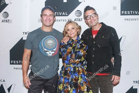 Andy Cohen, Amy Sedaris and Paul Dinello